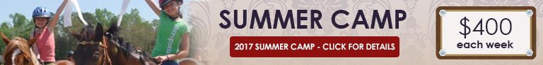 Summer Camp 2017 - $400 each week: Click here for details